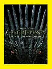 New & Sealed Game Of Thrones Final  Season 8 (DVD SET) Free Shipping