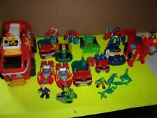 TRANSFORMERS RESCUE BOTS LOT,HEATWAVE,OPTIMUS PRIME,MORE