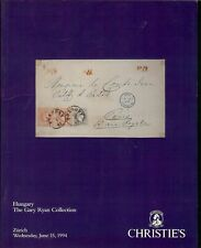 AUCTION CATALOGUE – The GARY RYAN AWARD WINNING HUNGARY COLLECTION +++