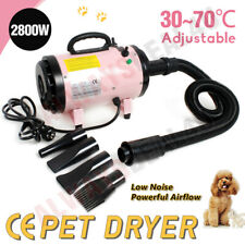 More details for 2800w dog cat pet hair grooming hair dryer hairdryer blaster heater lowest noise