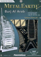Fascinations Metal Earth 3D Laser Cut Steel Model Kit - Dubai Burj al Arab