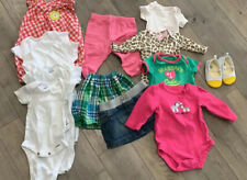 13 piece lot Baby Girls Clothing Summer Newborn 0-3 Months