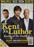 Smallville Official Magazine #8 May 2005 Kent vs Luthor - John Glover Interview