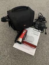 Cámara De Video Panasonic SDR-S26 - Rojo