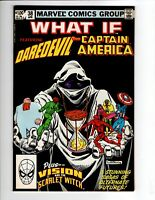 What If... #38 (Marvel 1983) Vol.1 - Daredevil, Captain America, Black Widow🔥👀