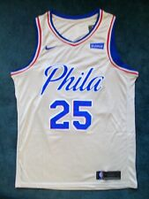 b8a9359b9e8 Nike NBA Philadelphia 76ers Ben Simmons City Edition Swingman Jersey Mens  X-Lg