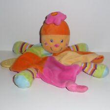 Doudou Tortue Mots d'enfants - Multicolore