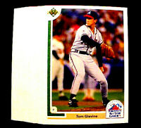 1991 Upper Deck TOM GLAVINE ~ 50 CARDS LOT ~ZZ~ BRAVES HOF HALL OF FAME lNDUCTEE