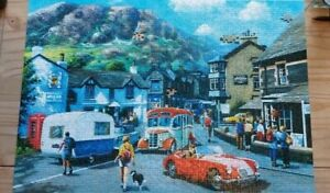 Ravensburger 1000 piece jigsaw puzzle Happy Days Lake District