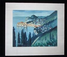 Oil Painting Michail Skansi (1885-1979) Italian impressionist