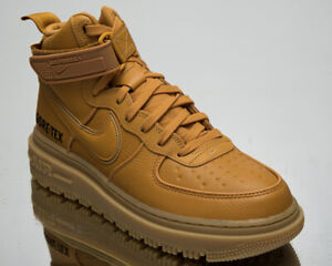 Nike Air Force 1 Gore-Tex Boot Men's Flax Wheat Winter Lifestyle Sneakers Shoes