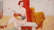 Self Portrait : Florine Stettheimer : Archival Quality Art Print