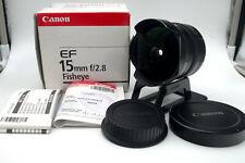 Lens Canon EF 15 mm f/2.8 FISHEYE #88209