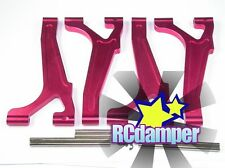 ALUMINUM FRONT & REAR UPPER ARM R TEAM LOSI 1/8 LST 1 AFTERSHOCK RAMINATOR AFT