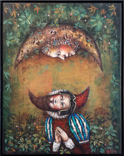 Cuban Art Painting. EDUARDO M. ABELA (b. 1963) . Acrilic on on canvas 2014.