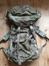 British Military Army Mtp Longback 100ltr Bergen Rucksack Bag Pack