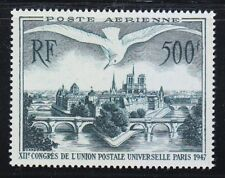 France 1947 MNH Mi 782 Sc C22 Ile de la Cite´, Paris,bridge & Gull.UPU congress