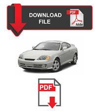 Hyundai Tiburon 2004 Factory Service Repair Workshop Manual