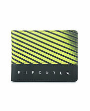RIP CURL MENS WALLET.ALL DAY FAUX LEATHER CREDIT CARD MONEY PURSE 7W UPU4 4078