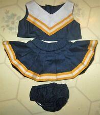 New Dog, Doll, Cat or Bear Cheerleader Uniform 3 pc Clothes. Michigan Wolverines