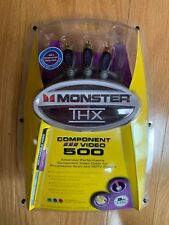 Monster THX Component Video 500 Cable 8 ft