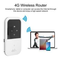 Portable 4G Router LTE Wireless Router Mini Mobile Wifi Hotspot SIM Card 150Mbps