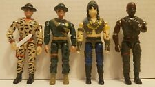 Lanard Action Figure Lot of 4 Military Figures
