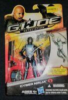 "GI Joe Cobra Cyber Ninja 4"" Action Figure Retaliation 2012 MOC Hasbro Viper Army"