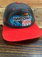 Vintage Daytona 500 Hat Snapback Cap NASCAR Racing 97 New Never Worn No Tags