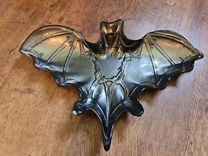 Halloween Decoration tkmaxx Glassware Akam Pewter Grey Bat Serving Dish