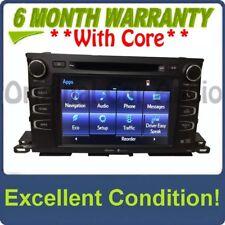 2014 2015 Toyota Highlander OEM Gracenote GPS Navigation HD Radio Receiver 57063