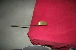 "Vintage Right Hand Brass Head Passage Beauwood TM-2 35"" Golf Putter"