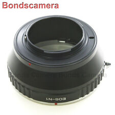 Canon EOS EF EF-S lens To Nikon 1 mount  camera Adapter J1 J2 V1 V2