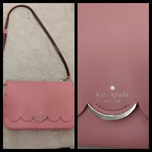 Kate Spade New York Handbag Pink Scalloped Edges Inv#Z3087