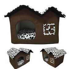 Pet Dog Bed Cat House Puppy Cushion Soft Warm Kennel Pet Pad Mat Igoo Blanket