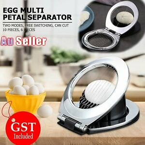 Tomato Cutter  Mushroom   Kitchen Chopper Boiled Egg Slicer Stainless Steel AU
