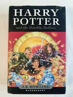 Harry Potter and the Deathly Hallows Bloomsbury Hardcover First Edition 2007