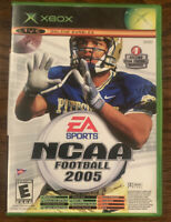 NCAA Football 2005 / Top Spin Tennis Xbox video game limited edition Great!