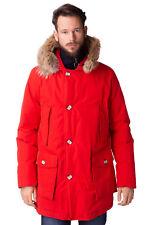 WOOLRICH Down Parka Jacket Size XL BYRD CLOTCH Coyote Fur Trim ARCTIC RRP €879