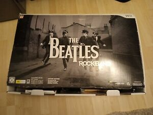 The Beatles Rock Band For Nintendo Wii Complete Limited Edition Set Boxed