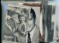 ROY ROGERS MOVIE STAR POSTCARD ARCADE LOT OF  13 DIFFERENT FONDA GRABLE