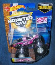 HOT WHEELS 2017 MEDUSA MONSTER JAM TRUCK NEW LOOK ZAMAC TEAM FLAG SERIES LEGENDS