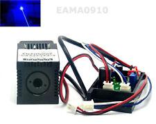 445nm 450nm Pure Blue Laser 200mw 12V Dot Module w/ TTL & Fan Cooling