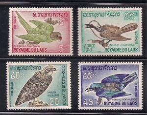 Laos   1966    Sc # 122-25   VLH   OG   (1-332)