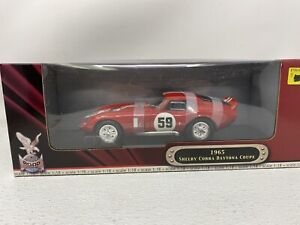 1/18 Road Signature 1965 Shelby Cobra Daytona Coupe  Fillipinetti Lemans #59