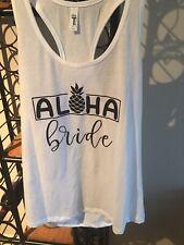 Aloha Bride tank. XXL New. 14/16 Misses