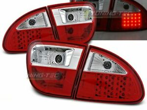 Tail Lights for Seat LEON 1M 99>04 Red White LED WorldWide FreeShip US LDSE03 XI