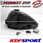 KDF FUEL TANK BLACK BIKE 50 PETROL CAP TAP PARTS FOR HONDA MONKEY Z50 Z50J Z50R