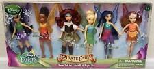 Disney Pirate Fairies Tinkerbell Mini Doll Set Zarina Fawn Silvermist Iridessa