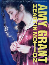 AMY GRANT - HEART IN MOTION - SONGBOOK (PIANO * VOCAL * GUITAR) - 1991